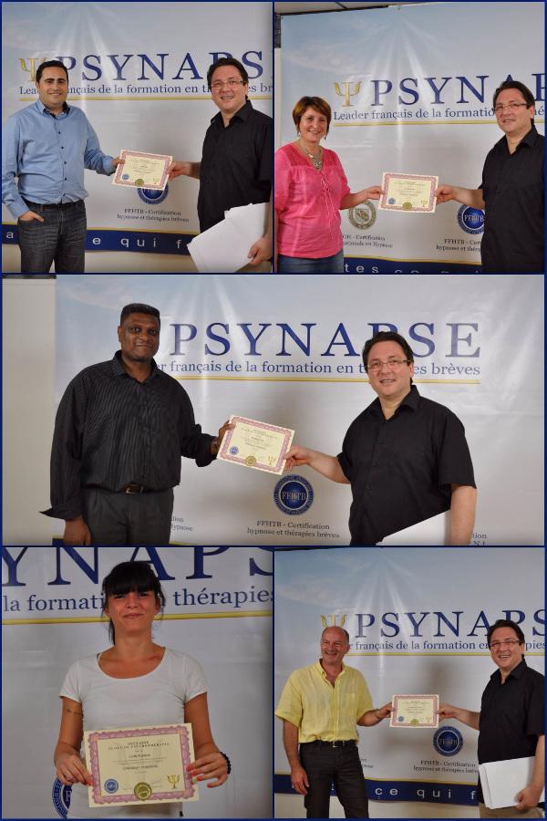 Les nouveaux enseignants certifiés F.F.H.T.B.
