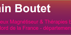 Alain Boutet : Magnetiseur Hypnotherapeute